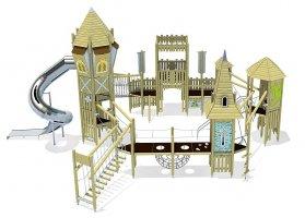 Impianti Gioco a Tema in legno_GEA525100