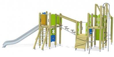 Impianti Gioco Medium in legno_GEA511023