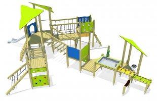 Impianti Gioco Medium in legno_GEA511025