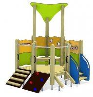 Impianti Gioco Baby in legno_GEA511009