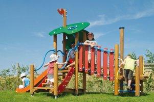 Impianti Gioco Baby in legno_GEAF002