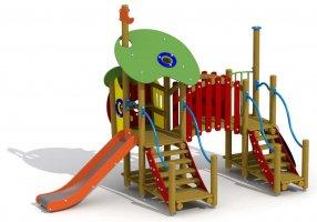 Impianti Gioco Baby in legno_GEAF003