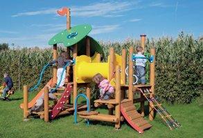 Impianti Gioco Baby in legno_GEAF019
