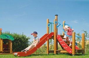 Impianti Gioco Baby in legno_GEAF500