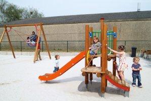 Impianti Gioco Baby in legno_GEAF700