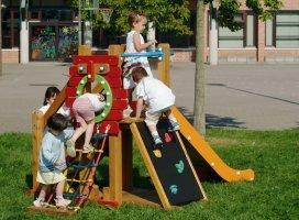 Impianti Gioco Baby in legno_GEAG500