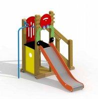 Impianti Gioco Baby in legno_GEAG550