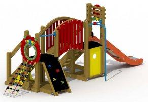 Impianti Gioco Baby in legno_GEAG560