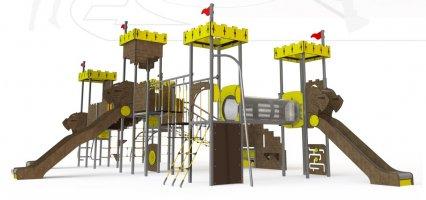 Impianti Gioco a Tema in metallo_GEACC 15- 6001