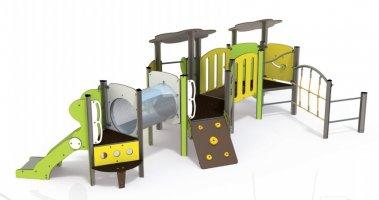 Impianti Gioco Baby in metallo_GEABA 06-3006