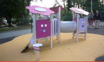 Impianti Gioco Baby in metallo_GEABA 06-3007