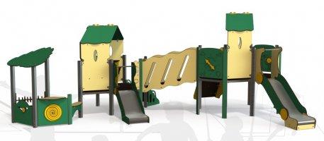 Impianti Gioco Baby in metallo_GEAMI 09-2046