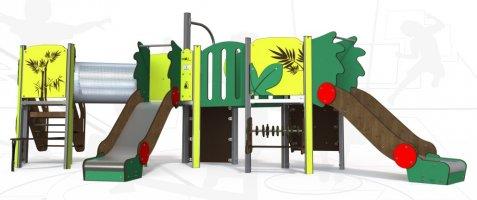 Impianti Gioco Baby in metallo_GEAMI 09-3013