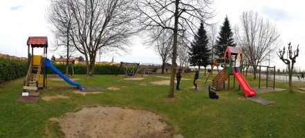 Situazione iniziale del parco precedente alla riqualificazione