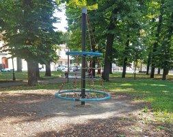 Parco giochi per bambini alla Rocca di Sissa Trecasali