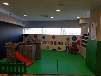 Spazio bimbi Ristorante Flunch c/o centro commerciale La Certosa – Collegno (TO)