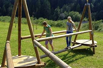 Percorsi Forest Adventure in legno